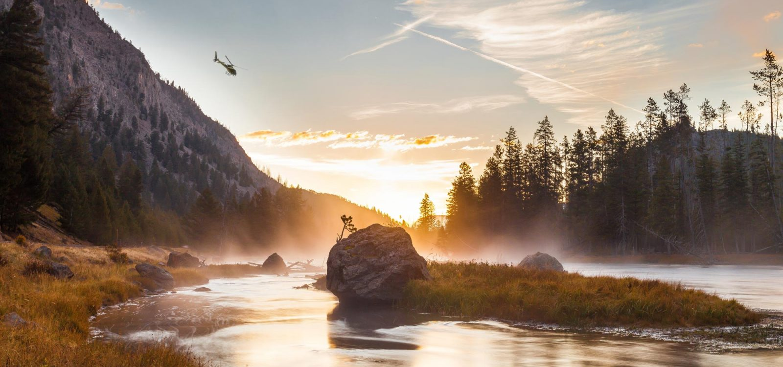helicopter tours and charters montana and yellowstone national park